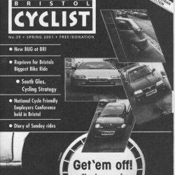 Bristol cyclist magazine No.39 Spring 2001