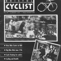 Bristol cyclist magazine No.40 Summer 2001