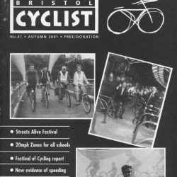 Bristol cyclist magazine No.41 Autumn 2001