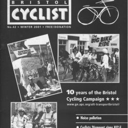 Bristol cyclist magazine No.42 Winter 2001