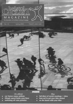 Bristol cyclist magazine No.43 Spring 2002