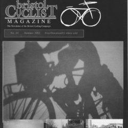 Bristol cyclist magazine No.44 Summer 2002