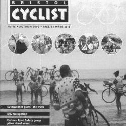 Bristol cyclist magazine No.45 Autumn 2002