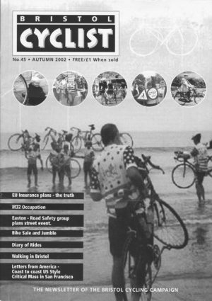 Bristol cyclist magazine No.45 Autumn 2002