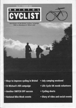Bristol cyclist magazine No.51 Summer 2004
