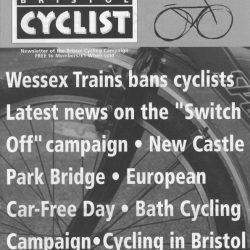 Bristol cyclist magazine No.53 Winter 2004