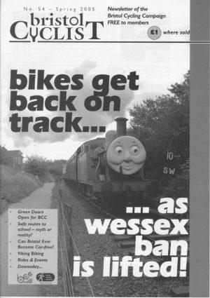 Bristol cyclist magazine No.54 Spring 2005