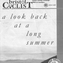 Bristol cyclist magazine No.57 Autumn 2005