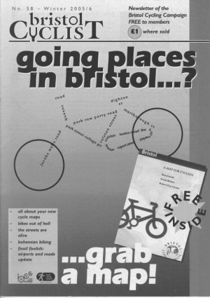 Bristol cyclist magazine No.58 Winter 2005