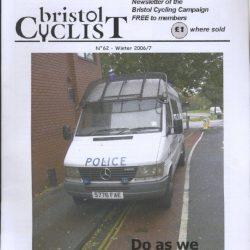 Bristol cyclist magazine No.62 Spring 2006