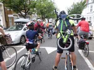 Organised group ride