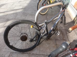 Hw not to lock your bike
