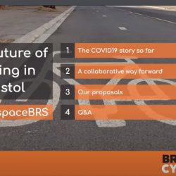 The Future of Cycling in Bristol – Webinar May 2020