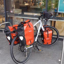 Shopping by bike