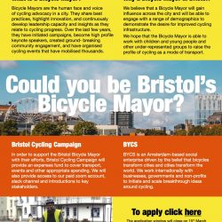 Could you be Bristol's Bicycle Mayor?