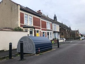 Bristol Cycling Campaign calls for 1,000 bike hangars