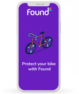 Protect your bike for free with Found