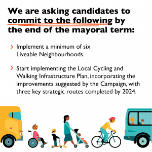 Responses from candidates to our Bristol Mayor cycling manifesto
