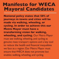What do Metro Mayor candidates say about cycling?
