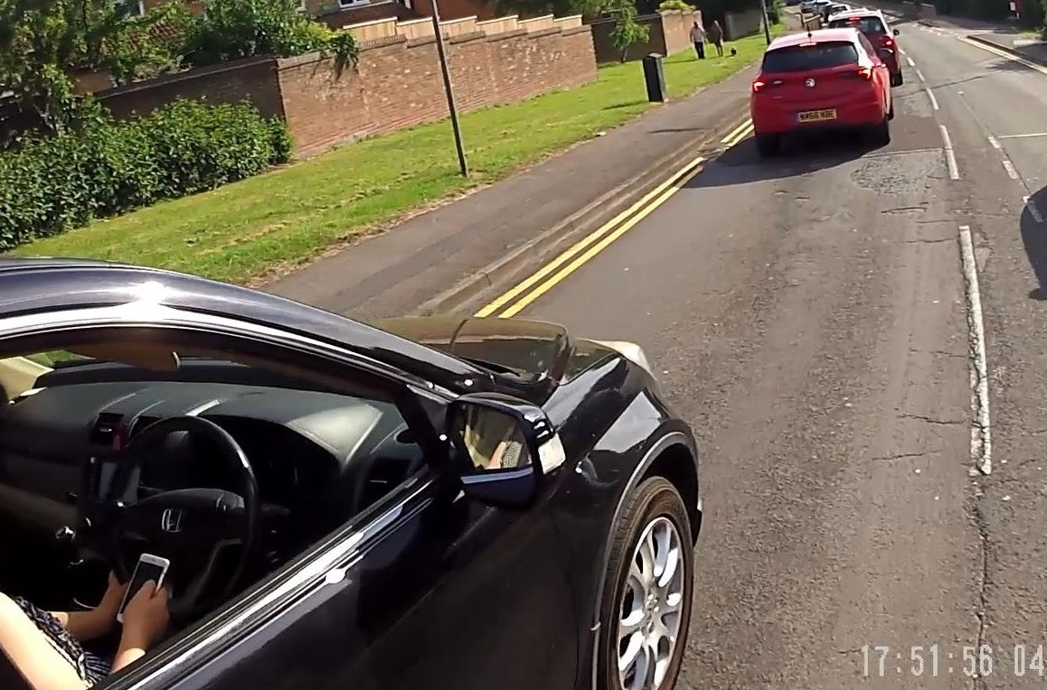 Cycling with video cameras - a cyclist's perspective: Part 1 Reporting